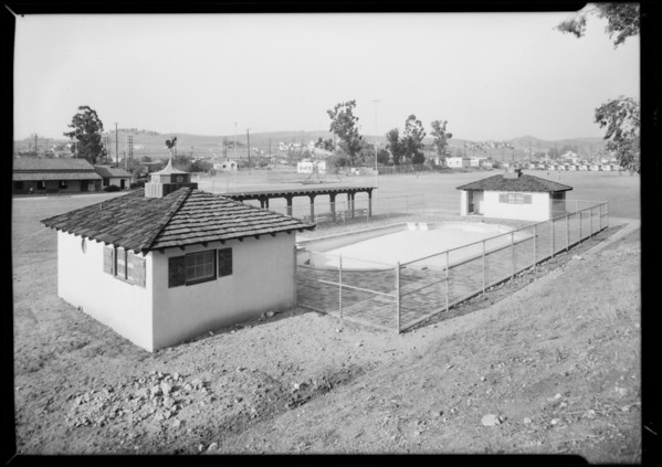 Different playground locations, Southern California, 1931