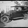Louise in Studebaker, Southern California, 1924