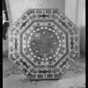 Inlaid table, Hawthorne, CA, 1931