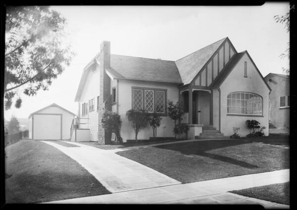 128 West Fairview Boulevard, 328 East Fairview Boulevard, Inglewood, CA, 1928