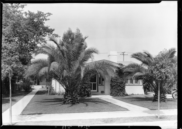 713 North Kingsley Drive, Los Angeles, CA, 1925