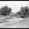 North Fairfax Avenue and Norton Avenue, West Hollywood, CA, 1929