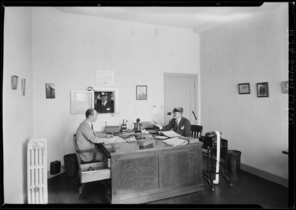 Offices, Yellow Cab Co., Southern California, 1928