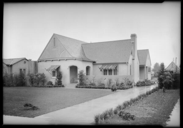 983 South Los Robles Avenue, Pasadena, CA, 1925