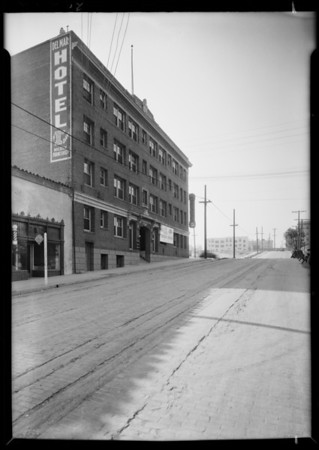 Del Mar Hotel, West 3rd Street and South Beaudry Avenue, Los Angeles, CA, 1931