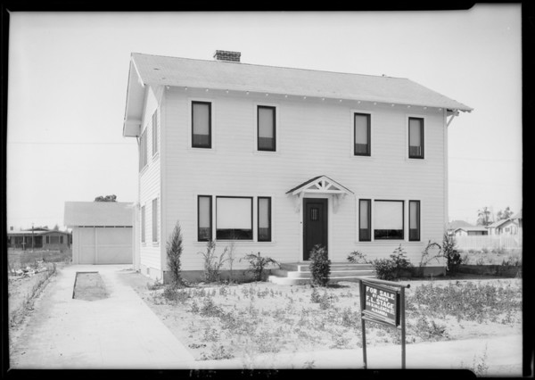 135 North Gerona Avenue, San Gabriel, CA, 1925