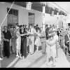 Wetherly - Kayser dancing at Lido Isle & group shot, Newport Beach, CA, 1928