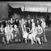 Group of women at El Royale, Southern California, 1929