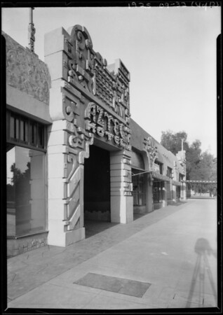 Aztec Hotel, 311 West Foothill Boulevard, Monrovia, CA, 1925