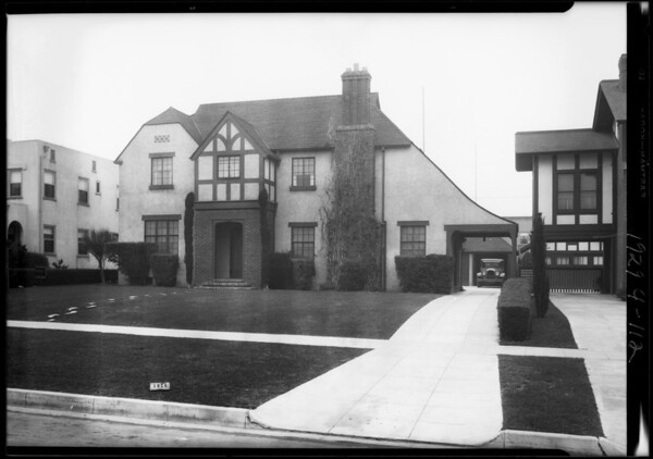 1914 Wellington Road, Los Angeles, CA, 1929