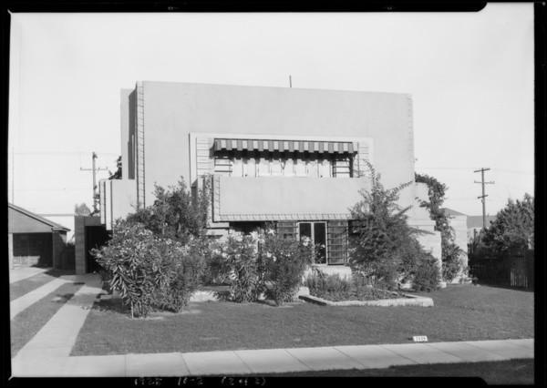 1530 North Ogden Drive, Los Angeles, CA, 1925