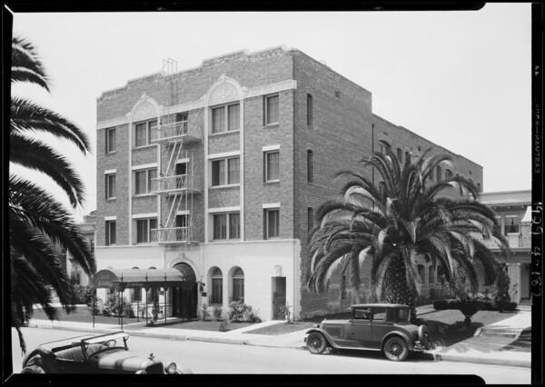 Armitage Apartments, 545 South Hobart Boulevard, Los Angeles, CA, 1929