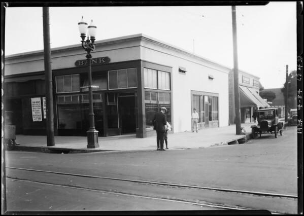 Pacific-Southwest Trust & Savings Bank - Washington and Figueroa Branch, Los Angeles, CA, 1924