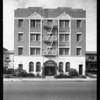 Exterior & lofts of Armitage Apartments, 545 South Hobart Boulevard, Los Angeles, CA, 1930