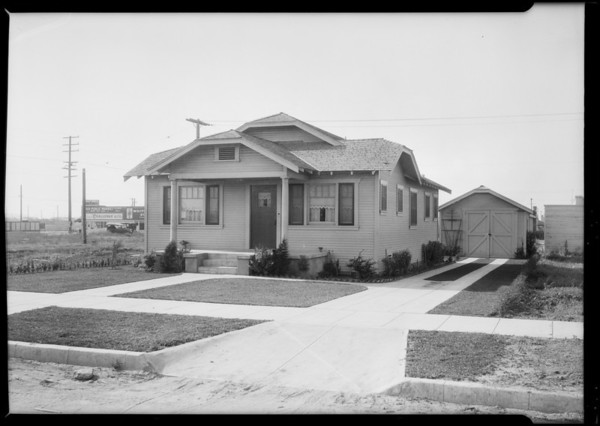 1739 West 68th Street, Los Angeles, CA, 1925
