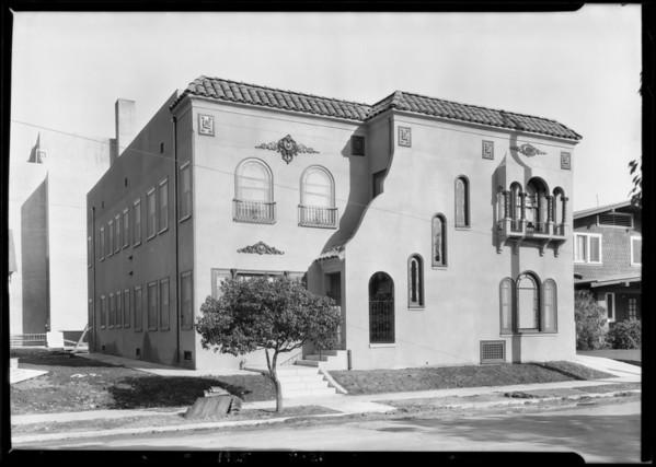 1316 12th Avenue, Los Angeles, CA, 1925