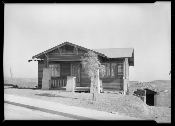 Houses at City Terrace, CA, 1928