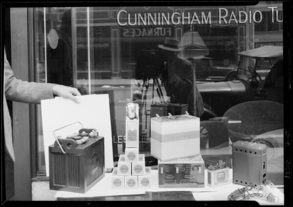 Atwater Kent Radio, Southern California, 1927