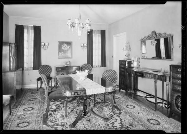 87 Fremont Place, Los Angeles, CA, 1930