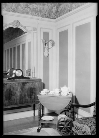 Christmas gifts - furniture (taken in music department), Broadway Department Store, Los Angeles, CA, 1925