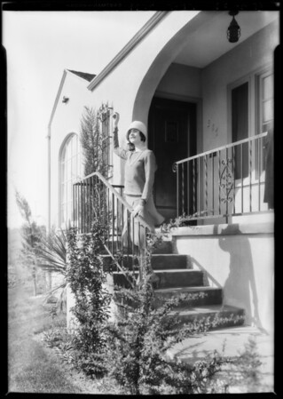 Publicity shots, View Heights with Jance Gilbert, Southern California, 1928