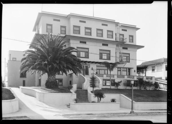 Barker Hotel, 2000 Miramar Street, Los Angeles, CA, 1928