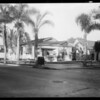 North Wilton Place and Fernwood Avenue, car at North Beachwood Drive and Santa Monica Boulevard, Los Angeles, CA, 1931
