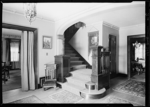 Earle Williams's home, 920 Irving Boulevard, Los Angeles, CA, 1929