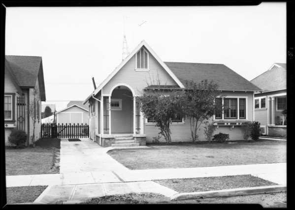 Small homes View Heights, Southern California, 1930