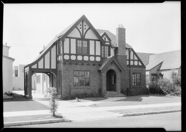 6606 Lindenhurst Avenue, Los Angeles, CA, 1928