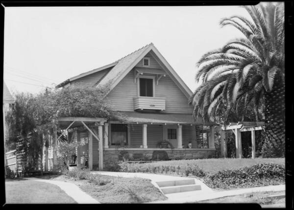 4668 La Mirada Avenue, Los Angeles, CA, 1928