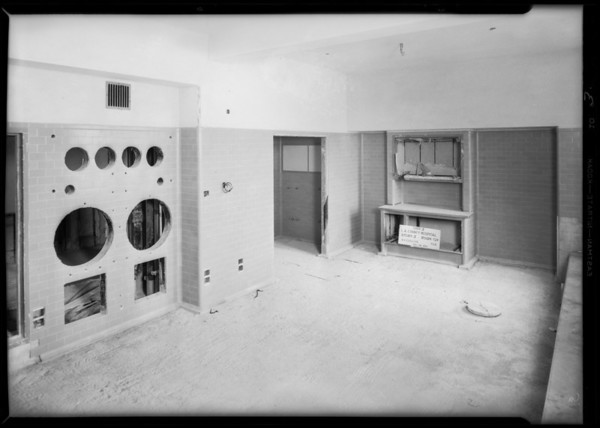 County Hospital, B.V. Collins, Los Angeles, CA, 1931
