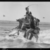 Sports at Lido Isle, riding horses, etc., Newport Beach, CA, 1928