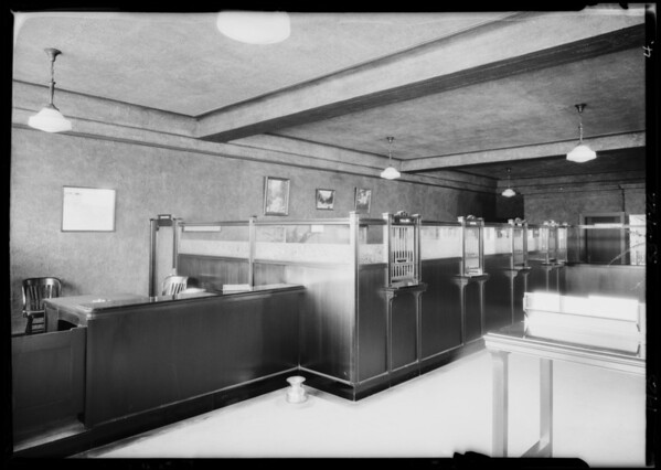 47th & Broadway, Pacific-Southwest Trust & Savings Bank, Los Angeles, CA, 1925
