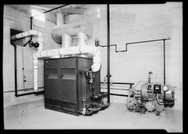 Bryant boiler at Lemon Growers Association, Glendora, CA, 1931