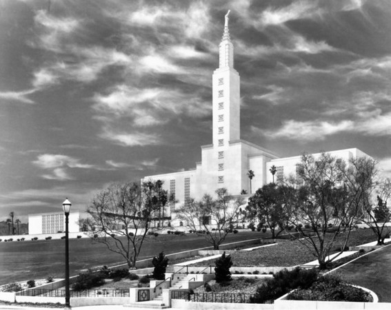 The Mormon Temple in Los Angeles