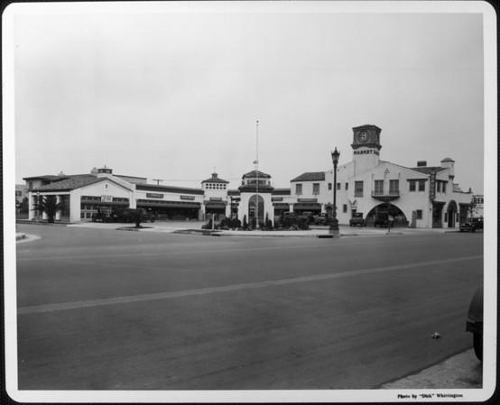 The Sunset Market shopping center