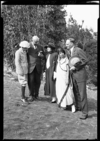 Ruts in the street, Southern California, 1925