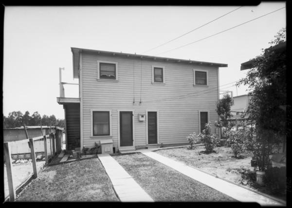 3 houses - San Pedro, Southern California, 1925