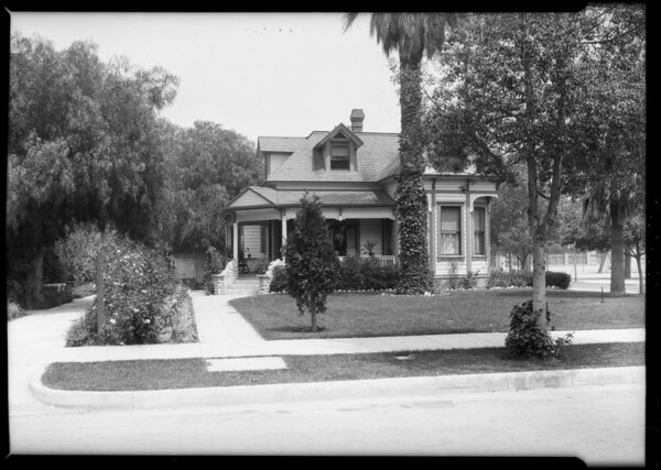 306 South El Molino Avenue, Pasadena, CA, 1925