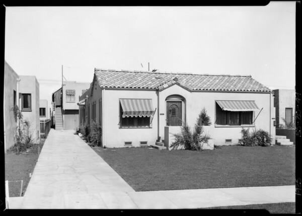 850 North La Jolla Avenue, Los Angeles, CA, 1925
