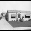 850 North La Jolla Avenue, Los Angeles, CA, 1925