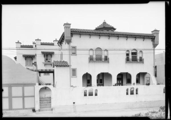 140 North New Hampshire Avenue, Los Angeles, CA, 1925