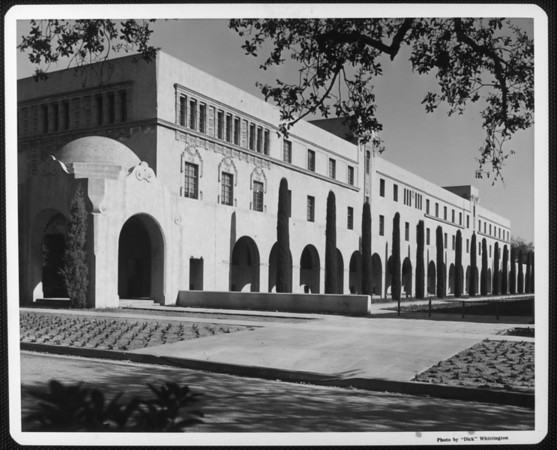 Church Laboratory, California Institute of Technology, ca.1958