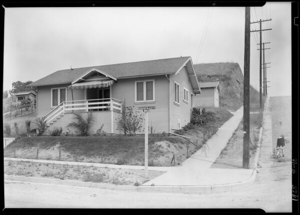 1202 Harriman Avenue, Los Angeles, CA, 1928