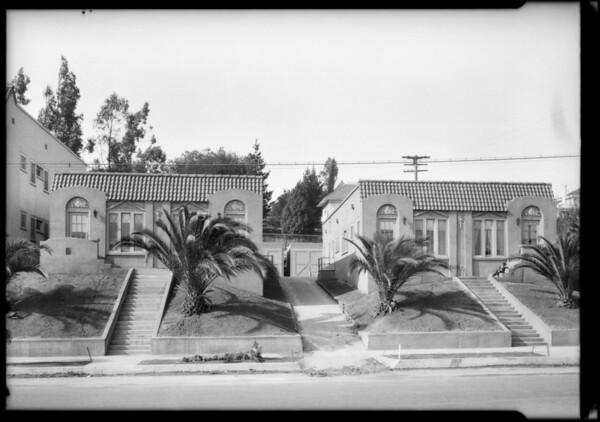 3723-3727 & 3745-3801 Montclaire Street, Los Angeles, CA, 1925