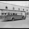 Asbury coach, Southern California, 1931