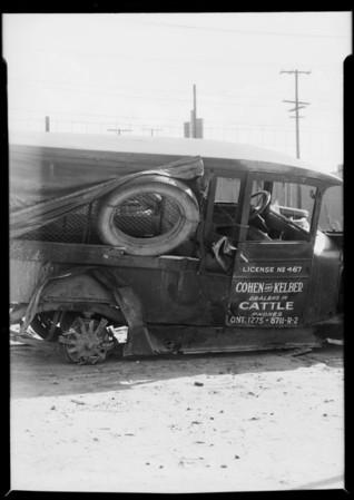 Dodge truck, Cohen & Kelber, Southern California, 1931