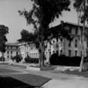 A view of the buildings in Occidental College