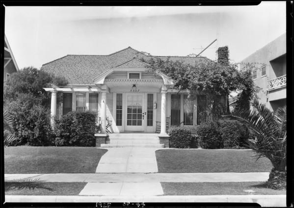 5707 Virginia Avenue, Los Angeles, CA, 1925